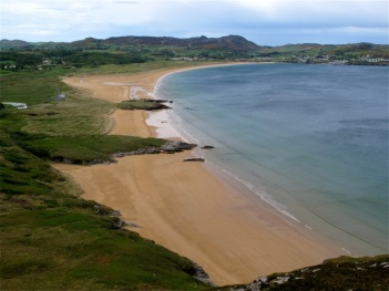 Ballystocker Beach, on the Fanad Peninsula, has been called one of the world's most beautiful. Hilary Nangle photo.