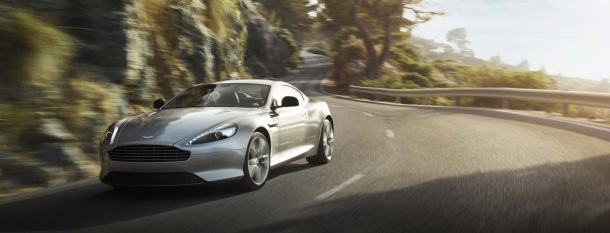 Put yourself behind the wheel of an Aston Martin DB9 on a James Bond-themed weekend at the Isle of Eriska, Scotland.