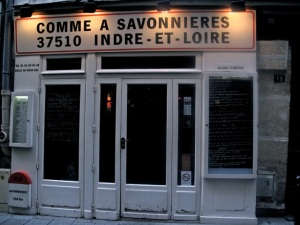We began with lunch at Comme A Savonnieres, a cozy bistro in St. Germaine des Pres. Hilary Nangle photo