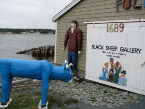Black Sheep Gallery, W. Jeddore Village, N.S. Hilary Nangle photo