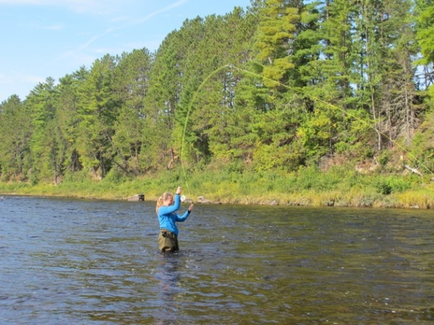 I cast a line into the Miramichi and got hooked on fly fishing in New Brunswick.