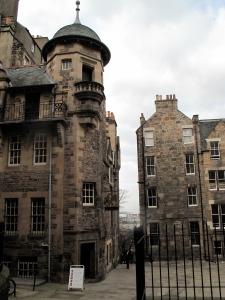 Duck down a close in Edinburgh to find the Writers' Museum. ©Hilary Nangle