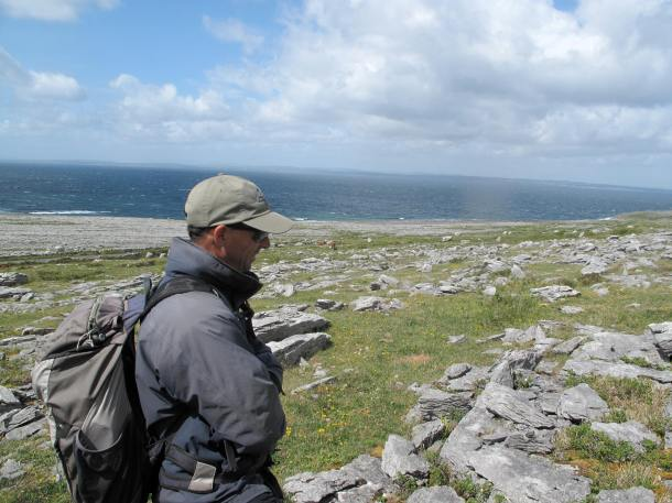 "A sheep and cattle farmer whose roots here go back, ""acch, forever,"" guide Shane Connolly earned a diploma in archeology from the National University of Ireland, another in local and regional studies from University College Cork, and has a passion for sharing not only book-learned facts but also oral tradition."