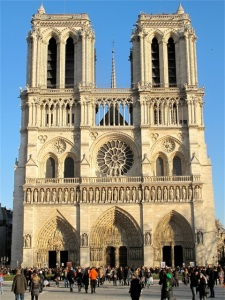 We jockeyed for position to snap pics of Notre Dame. Hilary Nangle photo
