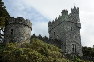Glenveigh National Park includes a lakeside castellated manions with views over the lake and glen. Hilary Nangle photo.