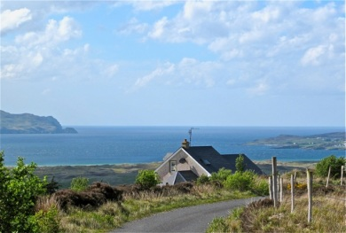 The views were stupendous from our rental house in Carrigart, county Donegal, Ireland. Hilary Nangle photo