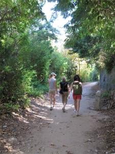 Pass through backyard Bermuda along the Railway Trail. Hilary Nangle photo
