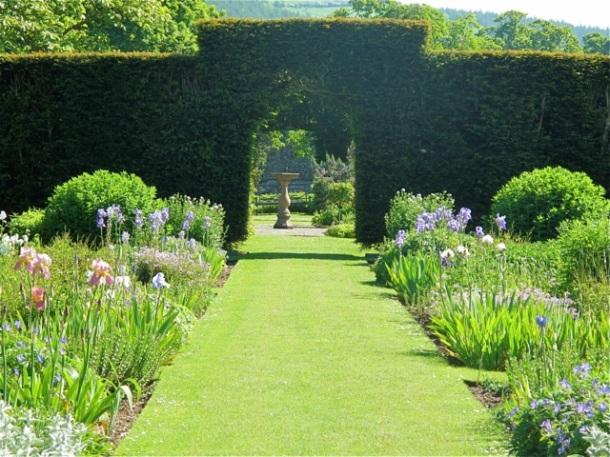 Glenarm Walled Garden, Glenarm, Northern Ireland. Hilary Nangle photo.