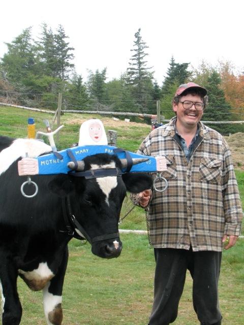 Barry Colpitts, Nova Scotia folk artist. Hilary Nangle photo.