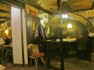 Cask Room in the Gaststrube Purstner, Vienna. Hilary Nangle photo